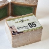 Pachet: 4 sapunuri Alep 55% ulei dafin Saryane