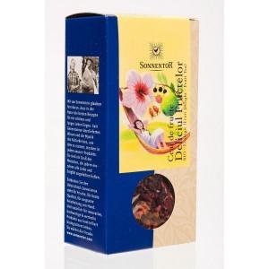 Ceai bio deliciul fructelor, 100g, Sonnetor