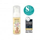 Dezinfectant de maini pentru mami si bebelus, 90% ingrediente bio