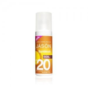 Crema protectie solara pt. fata SPF 20, Jason