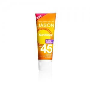 Lotiune protectie solara, SPF 45, copii, Jason