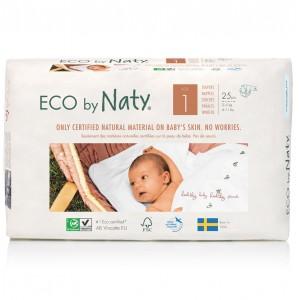 Scutece ECO Naty, Nr. 1, 2-5 kg, 25 buc