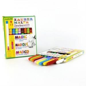 Magic markers 9+1, 9 culori + 1 marker care schimba culorile