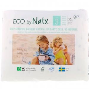 Scutece eco Naty nr. 3, 4-9 kg, 31 buc