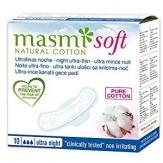 Absorbante pentru noapte Masmi Soft, 10 buc. cutie