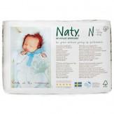 Scutece nr. 0, prenatal, 4.5 kg, 26 bucati, Naty