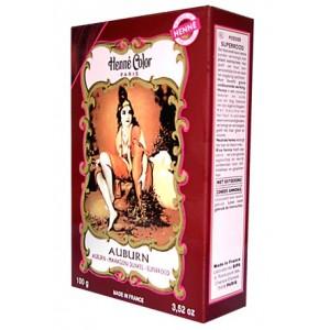 Henna, pulbere, auburn (ruginiu), Henne Color Paris