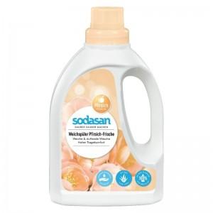 Balsam Bio Pentru Rufe cu Piersica si Aloe Vera 750 ml Sodasan