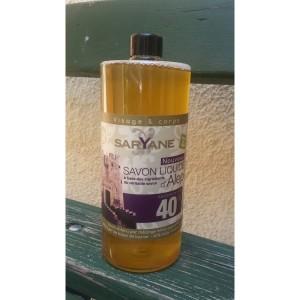 9 x Rezerva sapun lichid de Alep, 1l, Saryane