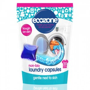 Detergent pentru rufe, capsule, 20 buc., Ecozone