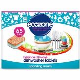 Tablete pentru masina de spalat vase – stralucire, 65 buc, Ecozone