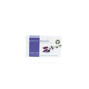 Calming & Moisturising Soap Bar , Bentley Organic